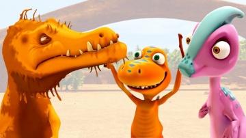 Мультики для детей Поезд динозавров Приключения Бадди и Птеранодонов