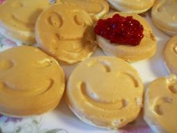Блинчики-смайлики для детей   Рецепт Светланы Черновой