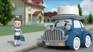 Робокар Поли - Правила дорожного движения - Когда случаются аварии