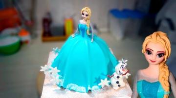 "3д Торт ""Эльза"" / 3D Cake ""Elsa"" - Я ТОРТодел"