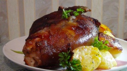Сочная,вкусная свиная рулька ,запеченная в духовке -Pork knuckle baked in the oven | Рецепт Светланы