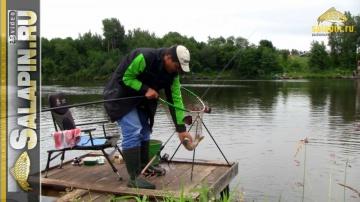 Мастер-класс по ловле карпа в Савельево salapin ru