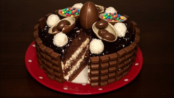Вкусный торт Киндер Делис