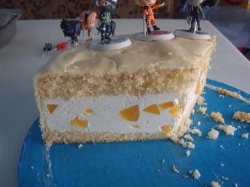 Торт с персиками Маринкины Творинки
