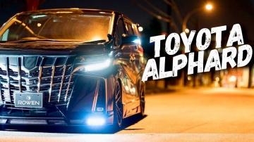 Обзор Toyota Alphard за ПЯТЬ МИЛЛИОНОВ рублей NEW Тойота Альфард.