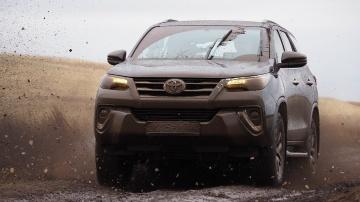 Вне дорожный тест драйв нового Toyota Fortuner Форчунер обзор test drive off-road