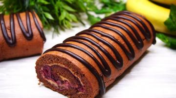 Калнина Н Простой рецепт Быстрого Шоколадного рулета