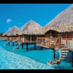 Живописные острова Бора-Бора Французская Полинезия: Место тусовки миллионеров