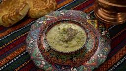 Турецкий йогуртовый суп с чесноком | Рецепт Сталика Ханкишиева