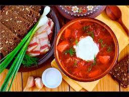 Как приготовить вкусный  Борщ с грибами и фасолью   Рецепт от MarMari93