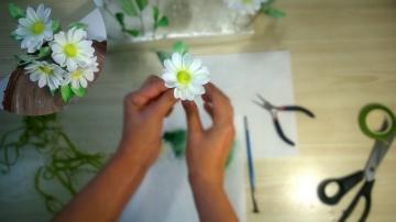 Я ТОРТодел Цветы из мастики | Цветочная композиция из ромашек