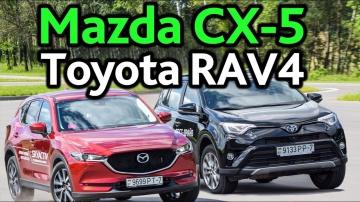 Mazda CX-5 и Toyota RAV4 выбираем между практичностью и красотой