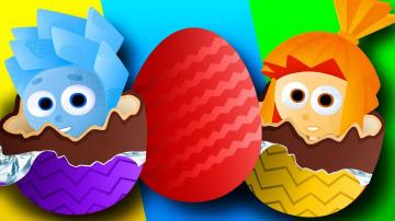 Сборник для детей Лопаем шарики и открываем ЯЙЦА СЮРПРИЗ с игрушки Щенячий Патруль