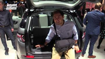 Land Rover Discovery Sport - Большой тест-драйв - Парижский автосалон
