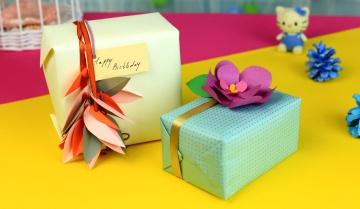 Трум Трум Как красиво упаковать подарок своими руками