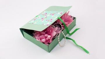 Трум Трум Как сделать подарочную коробку из картона своими руками