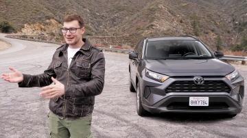 Тест-драйв и обзор Toyota RAV4 2019|НОВЫЙ РАВ4 ПЕРВЫЙ ТЕСТ-ДРАЙВ