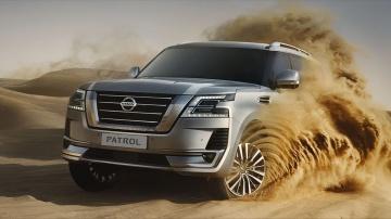 Новый роскошный внедорожник Nissan Patrol 2020 тест драйв по бездорожью