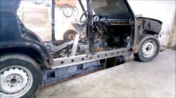 Ремонт кузова ваз 2106 своими руками Сварка кузовной ремонт