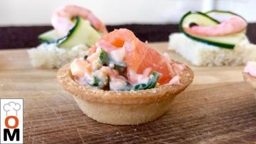 Закуска из Красной Рыбы и Креветок на Новогодний Стол | Рецепт Ольги Матвей