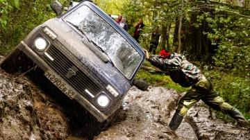 Только НИВА так может Пойдём за трактором Русский Джип бездорожье 2019