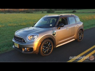 2018 MINI E Countryman ALL4 Plug-In Hybrid Test Drive Video Review