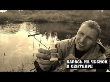 ЛОВЛЯ КАРАСЯ НА ЧЕСНОК Рыбалка на карася в сентябре Рыбалка на пруду