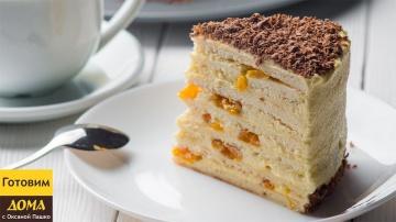 ТОРТИК БЕЗ ДУХОВКИ Торт на сковороде с заварным кремом