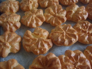 Заварные пироженки Маринкины Творинки