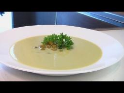 """Суп-пюре из зеленого горошка   Рецепт приготовления из """"Книга о вкусной и здоровой пище"""""""