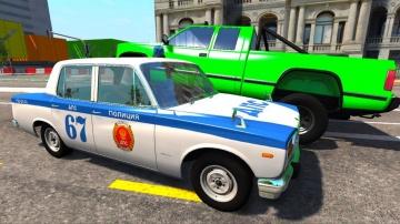 Мультики про машинки - Полицейские машинки и погоня