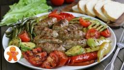 Домашние колбаски на гриле | Рецепт Ирины Хлебниковой