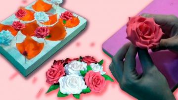 Я ТОРТодел Роза из мастики. Сушилка для цветов / Rose of mastic. Dryer for flower - Я - ТОРТодел!