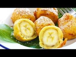 Жареный банан в пряном кляре -  Лазерсон Мировой повар