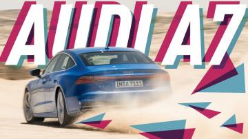 Новая Audi A7 Sportback 2018/Лучший полный привод/Большой Тест Драйв