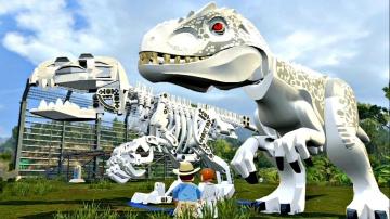 Мир Юрского Периода.Скелет Динозавра.Игры и Мультики про Динозавров.Jurassic World.Челлендж.Лего
