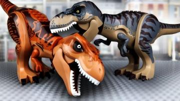 LEGO Динозавры | Тиранозавр против Тиранозавра | ЛЕГО Мир Юрского Периода