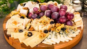 Сырная тарелка ► Состав и оформление