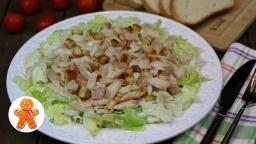 Cалат с копченой форелью ✧ Мой любимый рыбный салат | Рецепт Ирины Хлебниковой
