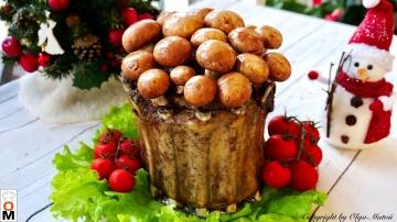 Мясо Король Праздничного Стола Мясной Пенёк Рецепт Ольги Матвей