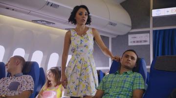 Однажды в России: Интим в самолёте