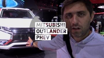 Mitsubishi Outlander PHEV Concept-S - Большой тест-драйв - Парижский автосалон