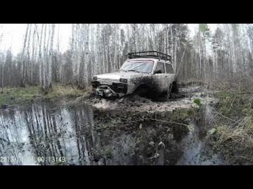 УАЗ 469, УАЗ Патриот, НИВА Покатушки по бездорожью! Бездорожье России! 2017 (HD)