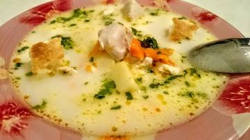Вкусный Сырный суп рецепт Секрета приготовления блюда