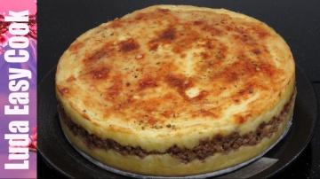 Позитивная Кухня Вкусная КАРТОФЕЛЬНАЯ ЗАПЕКАНКА с мясом Очень просто - Shepherd's pie recipe BÁNH KH
