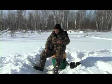 Ловля окуня со льда. Насадочная мормышка. Рыбалка в Сибири.