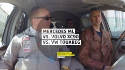 Mercedes ML vs. Volvo XC90 vs. VW Touareg - 12 серия - Казань - Большая страна - Большой тест-драйв