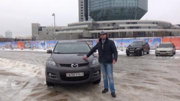Mazda CX 7 2008 Отзывы владельцев Обзор и тест драйв