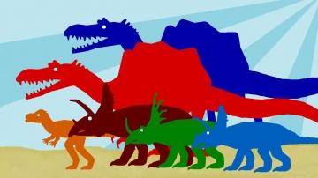 Динозавры: Мультики про Динозавров для детей - Веселые Динозаврики - Часть 1