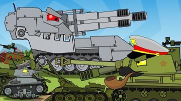 Рождение железного монстра ВСЕ СЕРИИ Мультики про танки